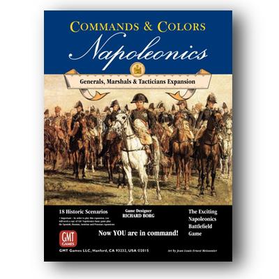 Commands and Colors: Napoleonics #5 – Generals, Marshals, Tacticians – EN