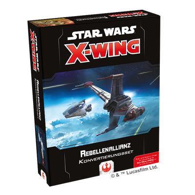 Star Wars X-Wing 2.Edition: Rebellenallianz Konvertierungsset – DE