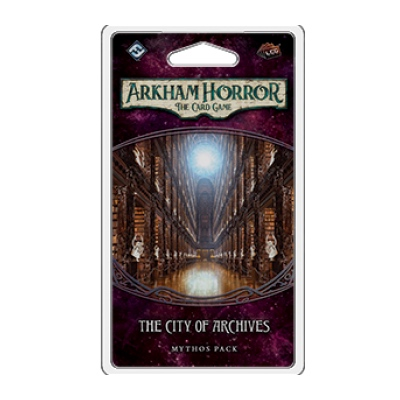 Arkham Horror LCG: The Forgotten Age 4 – City of Archives – EN