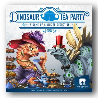 Dinosaur Tea Party – EN