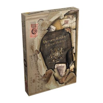 Der unvollendete Fall von Holmes – DE/EN