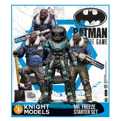 Batman/DC Miniature Game: Starter Set Mr. Freeze – EN