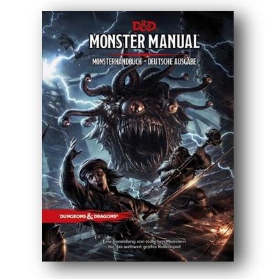 D&D: Monster Manual – Monsterhandbuch (HC) – DE