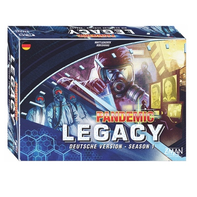 Pandemic Legacy: Season 1 (blaue Version) – DE
