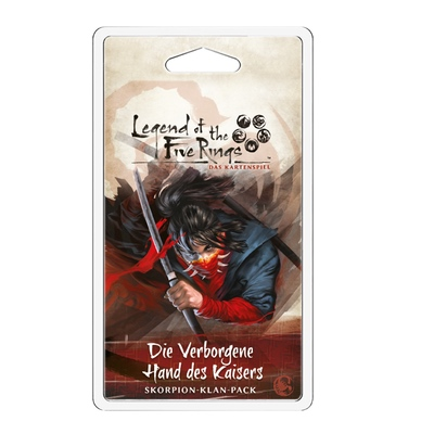 Legend of the five Rings: Die Verborgene Hand des Kaisers (Skorpion Klan) – DE