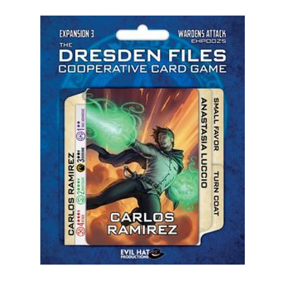 "Dresden Files Cooperative Card Game: Expansion 3 ""Wardens Attack"" – EN"
