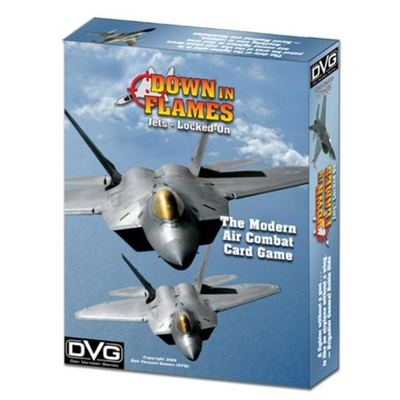Down in Flames: Locked-On (Modern Air Combat Card Game) – EN