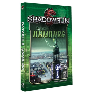 Shadowrun 5: Datapuls: Hamburg – *limitierte Auflage* (HC) – DE