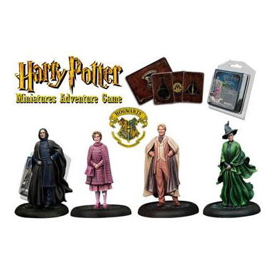 Harry Potter Miniaturenspiel: Hogwarts Professoren – EN