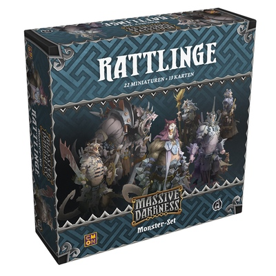 "Massive Darkness: Rattlinge ""Monster-Box"" – DE"