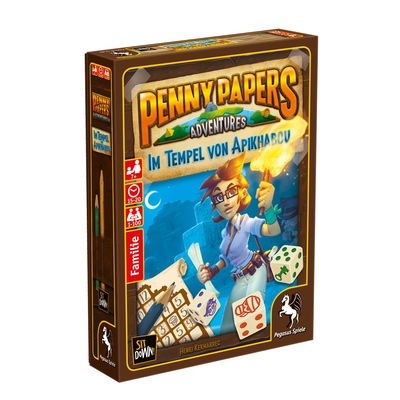 Penny Papers Adventures: Im Tempel von Apikhabou – DE