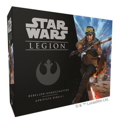 Star Wars Legion: Rebellen-Kundschafter – DE/IT