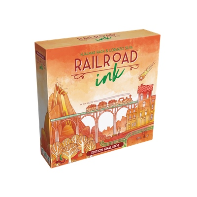 Railroad Ink: Edition Knallrot – DE