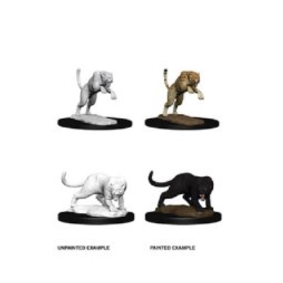 D&D Nolzurs Marvelous Miniatures: Panther & Leopard