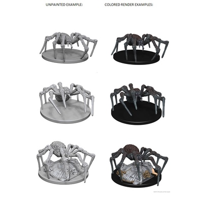 D&D Nolzurs Marvelous Miniatures: Spiders
