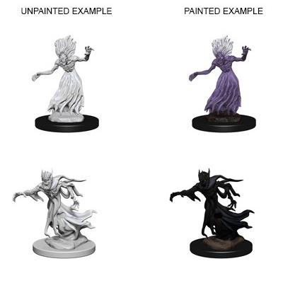 D&D Nolzurs Marvelous Miniatures: Wraith & Specter