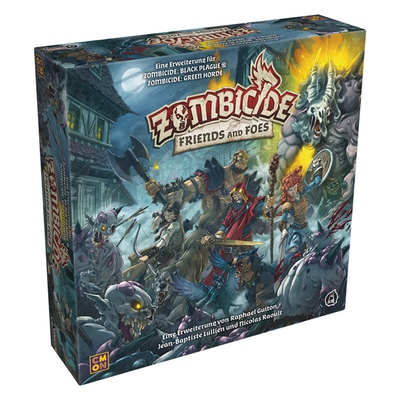 Zombicide Green Horde/Black Plague: Friends and Foes – DE