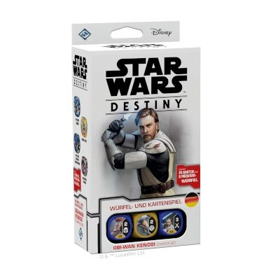 "Star Wars Destiny: Obi-Wan Kenobi ""Starter-Set"" – DE"