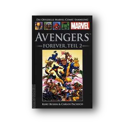 Die offizielle Marvel-Comic-Sammlung 15: Avengers: Forever (Teil 2)