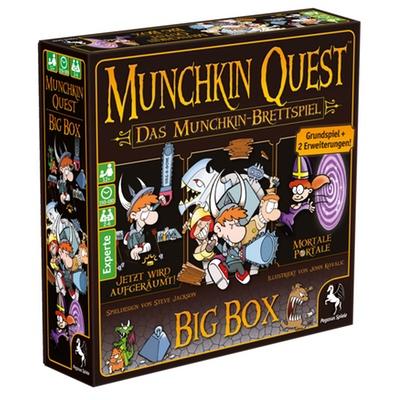 """Munchkin Quest """"Big Box"""" – DE"""