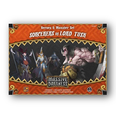 Massive Darkness: Sorcerers vs Lord Tusk – EN