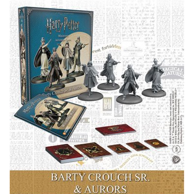 Harry Potter Miniaturenspiel: Barty Crouch Sr. & Auroren – EN