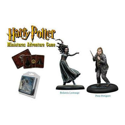 Harry Potter Miniaturenspiel: Bellatrix & Wurmschwanz – EN