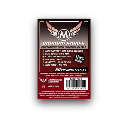 "Mayday Games: Sleeves – Mini Chimera ""Premium"" (43×65) – 50 Stk"