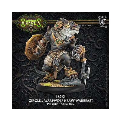 Hordes: Circle Orboros – Loki Warpwolf Heavy Warbeast