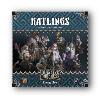 Massive Darkness: Enemy Box Ratlings – EN