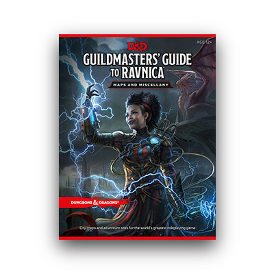 "D&D: Guildmaster's Guide to Ravnica ""Maps and Miscellany"" – EN"