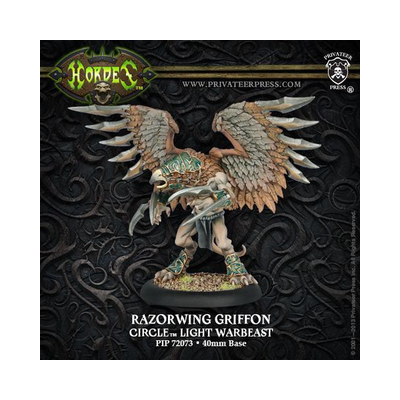 Hordes: Circle Orboros – Razorwing Griffon Light Warbeast