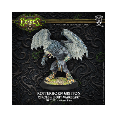 Hordes: Circle Orboros – Rotterhorn Griffon Light Warbeast