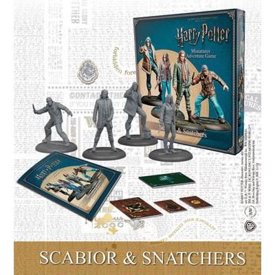 Harry Potter Miniaturenspiel: Scabior & Snatchers – EN