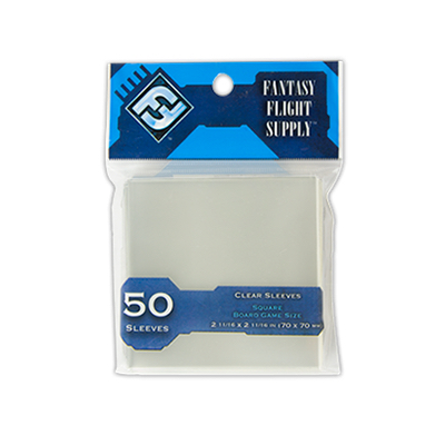 FFG: Sleeves – Square Card Game (70×70) – 50 Stk