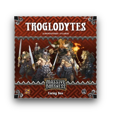 "Massive Darkness: Enemy Box ""Troglodytes"" – EN"