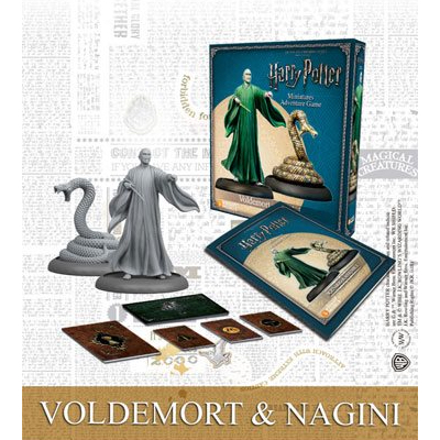 Harry Potter Miniaturenspiel: Voldemort & Nagini – EN