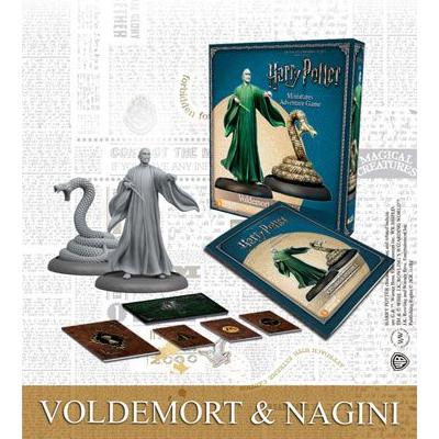 Harry Potter Miniaturenspiel: Voldemort & Nagini – EN