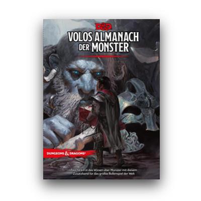 D&D: Volos Almanach der Monster (HC) – DE