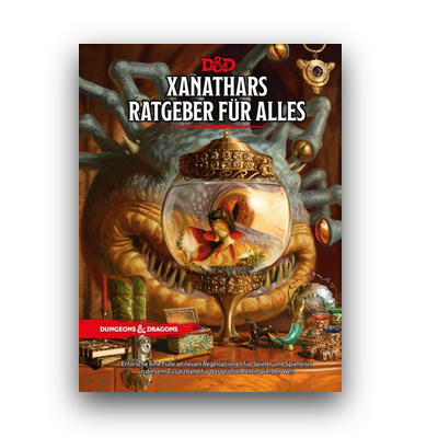 D&D: Xanathars Ratgeber für Alles (HC) – DE