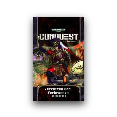 WH Conquest: Todeswelt 3 – Zerfetzen und Verbrennen – DE