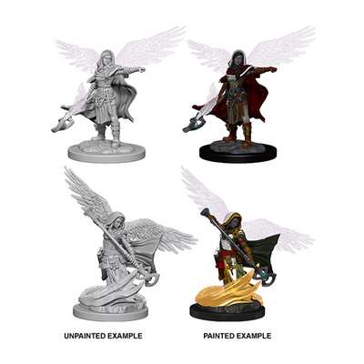 D&D Nolzurs Marvelous Miniatures: Aasimar Female Wizard