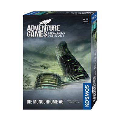 Adventure Games: Die Monochrome AG – DE