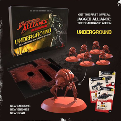 Jagged Alliance – The Board Game: Underground – EN