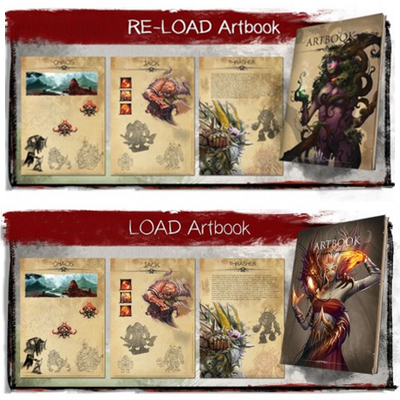 LOAD: Artbook, Re-Load Artbook & Epic-Foam