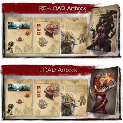 LOAD: Artbook, Re-Load Artbook & Epic-Foam