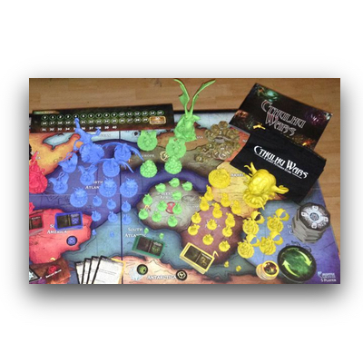 "Cthulhu Wars ""Core Game"" – EN (played)"