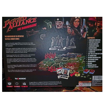 Jagged Alliance – The Board Game EN/DE