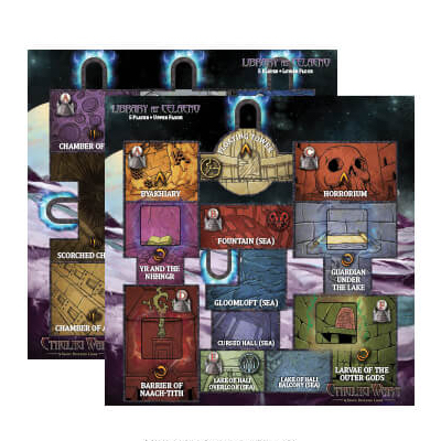 Cthulhu Wars: Library at Celaeno Map – EN