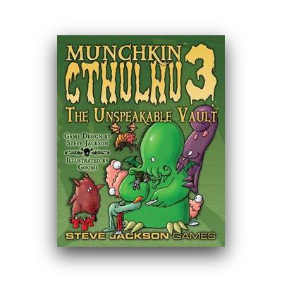 Munchkin: Cthulhu 3 – The Unspeakable Vault – EN